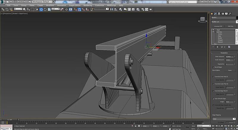 在3ds Max中创建游戏模型(2)