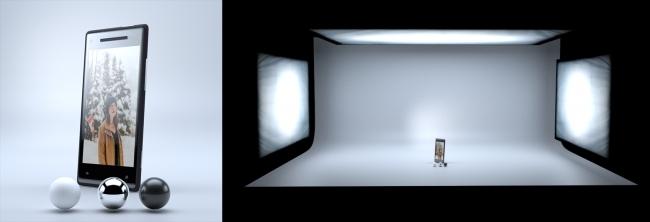 产品照明 - 瑞云渲染