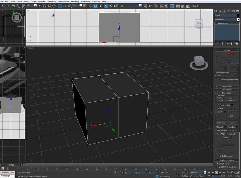 低多边形游戏角色建模基础网格1.2