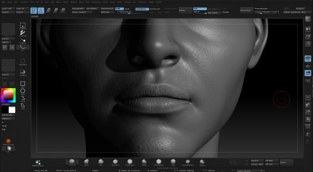 Unreal Engine 4超拟真人物幕后制作(2)