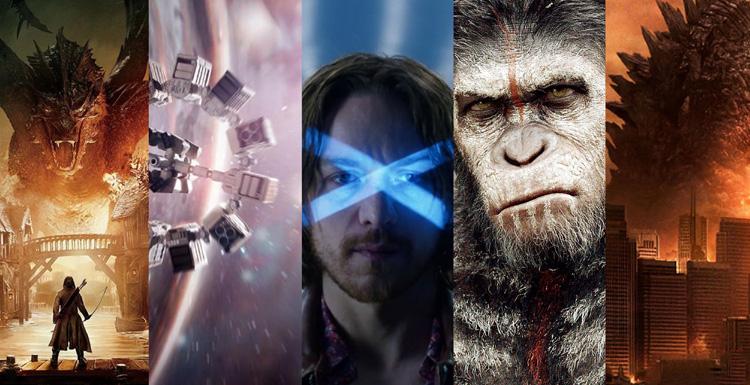 十部电影将VFX推向新高度
