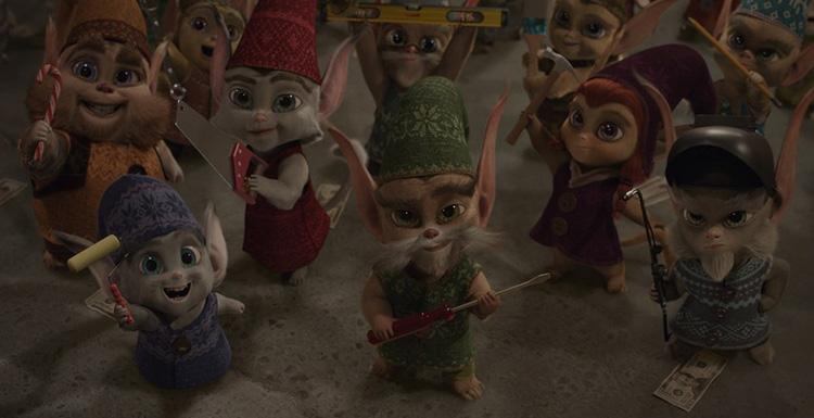 """视效分解:Method Studios助圣诞老人驯鹿在""""圣诞传奇""""中飞行"""