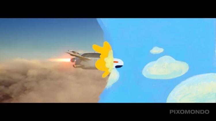 《飞驰人生》里有一部动画片,你发现了吗?