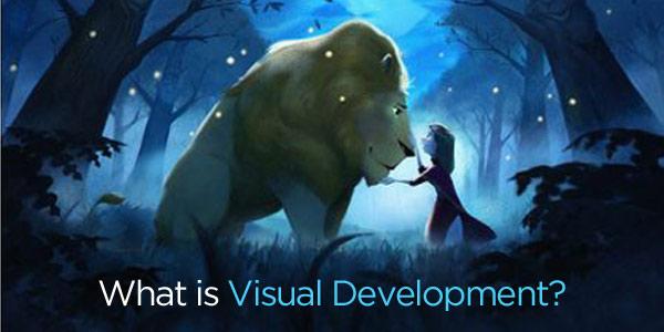 什么是CG动画中的视觉开发?