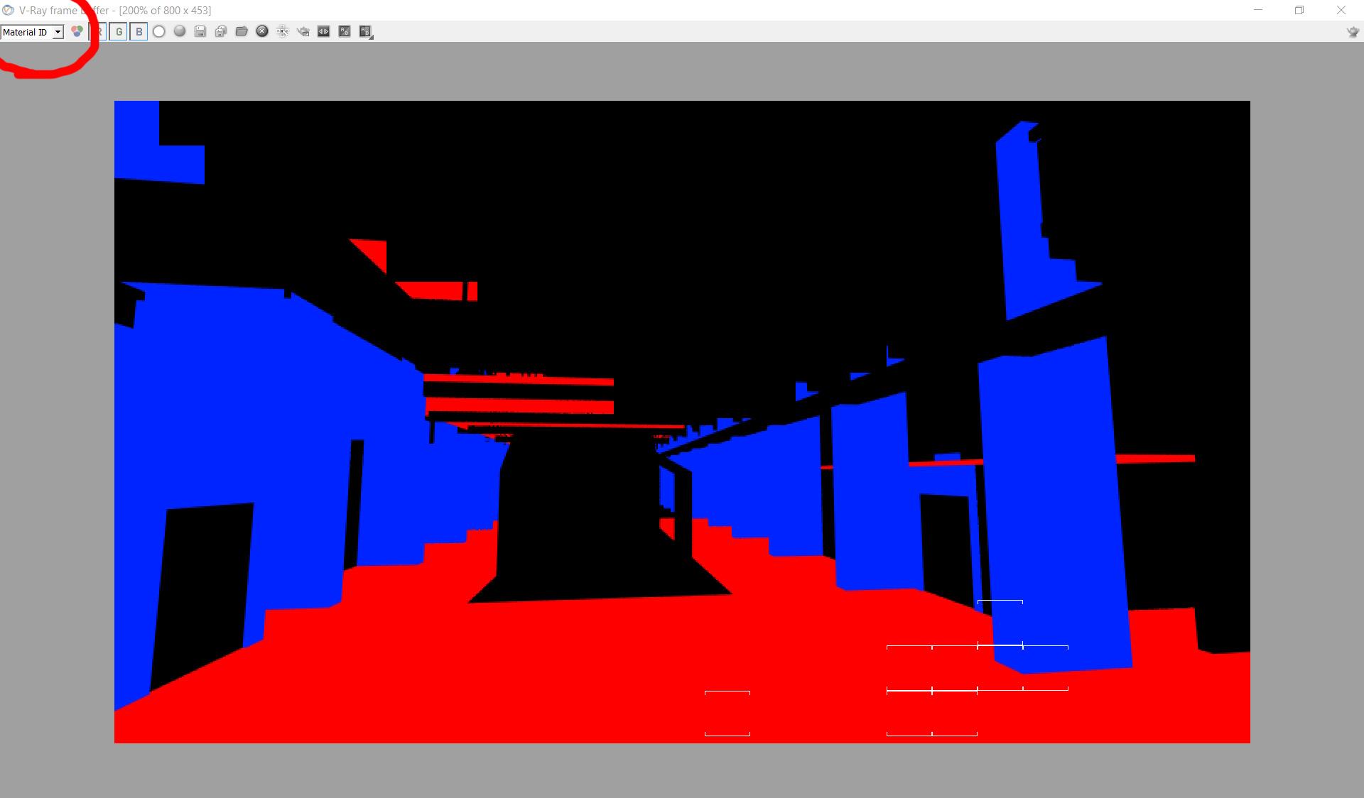 Material ID-Renderbus云渲染农场